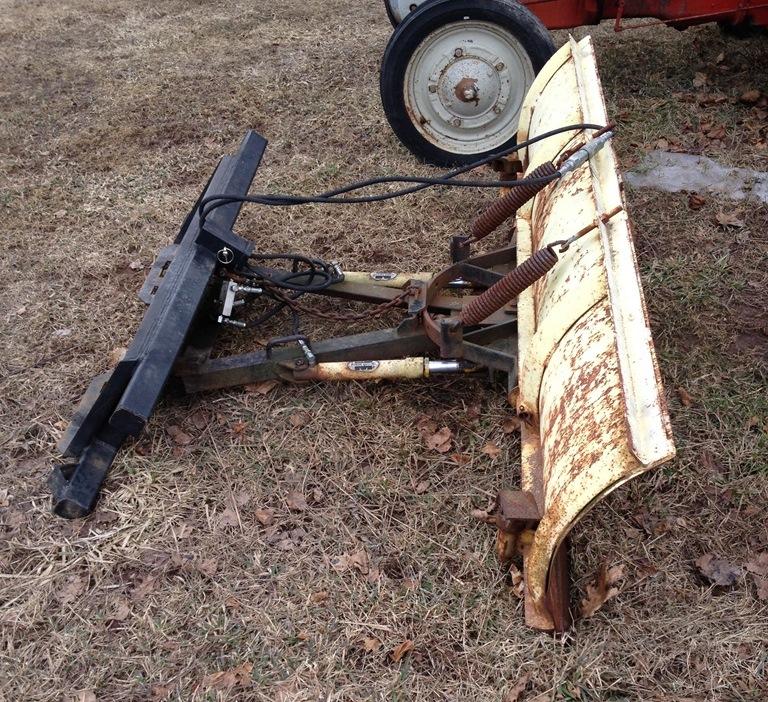 Skid Steer Snow Plow Grega Enterprises
